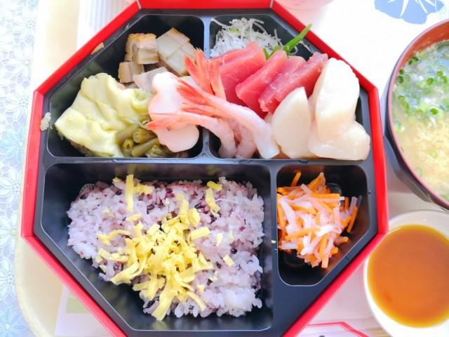 夏祭り昼食1