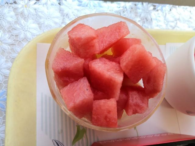 夏祭り昼食4